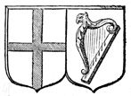 Pitts Theology Library Digital Image Archive: Coat of Arms of England and Ireland