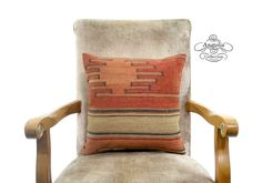 Tribal Vintage Turkish Kilim Rug Pillow 16 by AnatoliaCollection