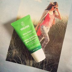 Weleda Skin Food. Great thick lotion if you have really dry skin. Takes some time to absorb but its great to put on your feet before bed (and if you wear socks to really let it absorb its even better).