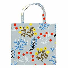 With warmer weather comes more activities, and this reusable tote will carry everything you need for a day at the beach or a picnic at the park. Marimekko Ailakki Grey/Multi Tote Bag - $38.50