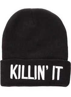 Beauty ForeverThe Killin It Beanie Swag Beanie Dope Beanie killinit