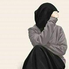 S kut-u Lisan Selameti nsan Hijabi Girl, Girl Hijab, Muslim Pictures, Hijab Drawing, Army Drawing, Islamic Cartoon, Niqab Fashion, Anime Muslim, Islam Women