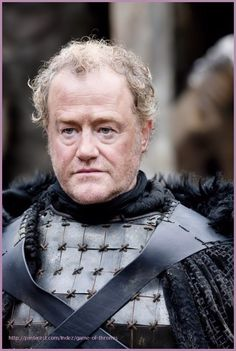 Ser Alliser Thorne, Master-at-Arms at Castle Black, Trainer of new recruits to the Night's Watch.