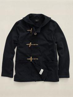 Double RL toggle coat