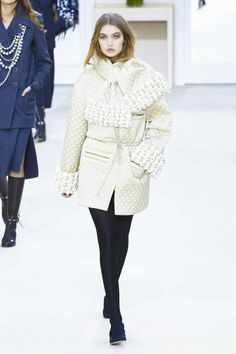 Chanel Fashion Show Ready To Wear Collection Fall Winter 2016 in Paris