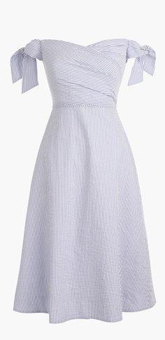 Picnic seersucker dress