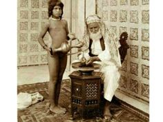 Arab sheikh with servant, 1910. Eugene Chatelain Wiki Commons NYT: U.S. PERSONNEL TOLD NOT TO REPORT CHILD RAPE BY AFGHAN SECURITY FORCES