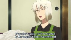 The Devil is a Part Timer - How Satan gets all the little demons to eat their veggies.