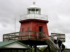 North Pier Lighthouse in Two Rivers, Wisconsin