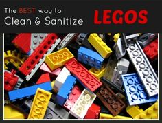 How To Properly Clean & Sanitize Legos Without Chemicals This process is great for cleaning and sanitizing Legos and other toys the right way.
