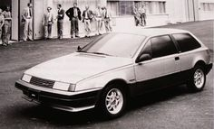 OG | 1986 Volvo 480 - Project G13 | Full-size proposal by John de Vries from Volvo Nederland