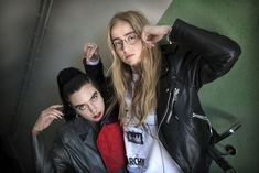 Beatrice Eli and Silvana Imam Beatrice Eli, Over The Rainbow, Walk On, Eyebrows, Pride, Take That, Legs, Pop, Leather