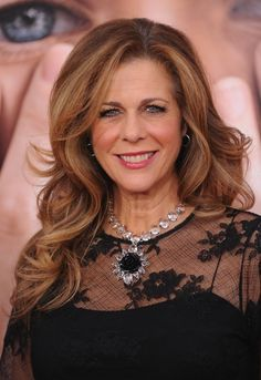 Best Over 40 Hair For 2011 | Best Long Hair Over 40: Rita Wilson | Style Goes Strong