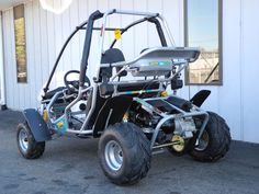 Our top-of-the-line Zircon go kart features a 9HP 150cc engine, full suspension, and hydraulic brakes. Plus, it has a sliding seat and can accommodate most adults. See more at: http://www.powerequipmentsolutions.com/products-a-services/online-store/go-karts/american-sportworks-model-6152-zircon-go-kart.html  #gokart #zircon #americansportworks #offroad #dirt #fun #knobby #pes #vandalia