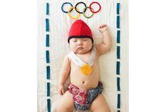 Dá para se inspirar nessas fotos e criar lindas fantasias para o seu bebê!