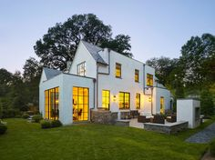 Distilled Traditional - Transitional - Exterior - DC Metro - by Anne Decker Architects, LLC