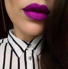I have this color of lipstick and it's fabulous. I have the MAC Violetta. Y'all should try it! ;)