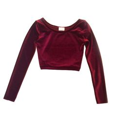 Velvet Crop Top - Back in Stock! Shop Now on NYLONshop: http://shop.nylonmag.com/collections/whats-new/products/velvet-crop-top