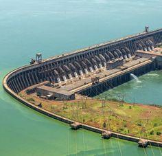 Santa Lucia, Puerto Iguazu, Monumental Architecture, Water Dam, Trinidad Y Tobago, Jamaica, Hydroelectric Power, Bahamas, Civil Engineering