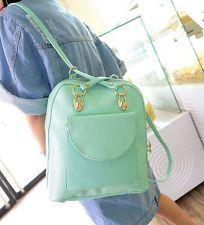Bolso De Hombro Dama College Student Estilo mochila bolsa doble-Coreana Casual Moda