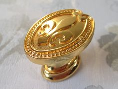 Gold Drawer Knobs Drawer Pulls Cabinet Door Knob French Fleur De Lis