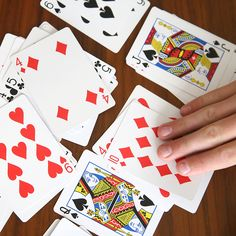 How to play California Speed. Easy and fun card game for kids and adults. Great activity for summer, family reunions, vacations, etc. Fun Card Games, Card Games For Kids, Playing Card Games, Games For Teens, Adult Games, Fun Games, Games To Play, Dice Games, Activity Games