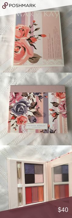 """Mary Kay """"Into the garden"""" pallet💐 This limited edition pallet is made by Mary Kay and included """"four spring bloom-inspired eye colours and three lip colours in sheer, glossy shades"""". It's retail price is 60$ so my price is firm unless bundled🌸 Comment any questions and have a wonderful day🎍 Mary Kay Makeup Eyeshadow"""