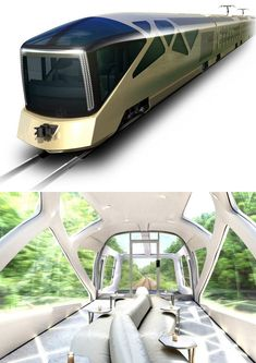 "Transportation More ""Designer Trains"" in Japan: Ken Okuyama's Forthcoming Cruise Train"