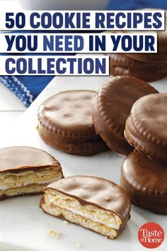 Cookies Recipes 50 Cookie Recipes You Need in Your Collection No Bake Cookies, Cookies Et Biscuits, Yummy Cookies, Healthy Cookies, Cake Cookies, Cupcakes, Best Cookie Recipes, Good Healthy Recipes, Muffin Recipes