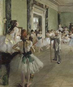 Degas,The ballet class