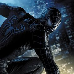 Spiderman 3 by Jeremy Roberts Hq Marvel, Marvel Dc Comics, Marvel Heroes, Marvel Characters, Black Spiderman, Amazing Spiderman, Female Superhero, Superhero Movies, Spiderman Pictures