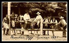 Beaubien Staff at Philmont Scout Ranch,1995