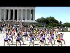 Flash Mob Lincoln Memorial