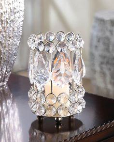 Crystal Gems Candle Holder