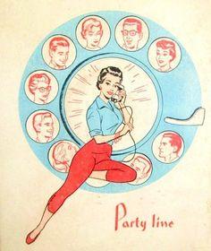 #welovehomeblog  1950s Address and phone book