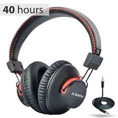 From Avantree 40 Hr Wireless/wired Bluetooth Over-the-ear Headphones/headset With Mic Aptx (not Low Latency) Extra Comfortable And Lightweight Nfc Dual Mode - Audition Warranty] Best Bluetooth Headphones, Cheap Headphones, Headphones With Microphone, Headphone With Mic, Noise Cancelling Headphones, Gaming Headset, Wireless Headphones, Over Ear Headphones, House