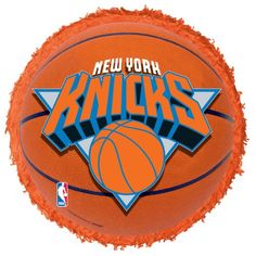 New York Knicks Basketball - Pinata with Alcohol Shooters instead of candy