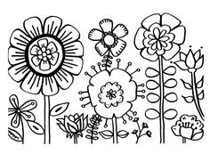 Zinnia Coloring Pages - Best Coloring Pages For Kids Summer Coloring Sheets, Flower Coloring Sheets, Printable Flower Coloring Pages, Garden Coloring Pages, Spring Coloring Pages, Preschool Coloring Pages, Easy Coloring Pages, Mandala Coloring Pages, Christmas Coloring Pages
