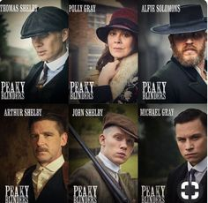 all the case #peakyblinders