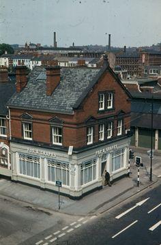 A Nottingham hostelry Nottingham Pubs, Old Pub, Space Place, Televisions, Urban Design, Historical Photos, Centre, Public, Corner