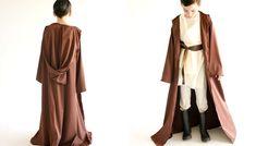 Child wearing a Star Wars Obi-wan costume with brown robe. Jawa Costume, Jedi Robe, Bowling Accessories, Costume Tutorial, Bowling Bags, Obi Wan, Kids Wear, Star Wars, Stars