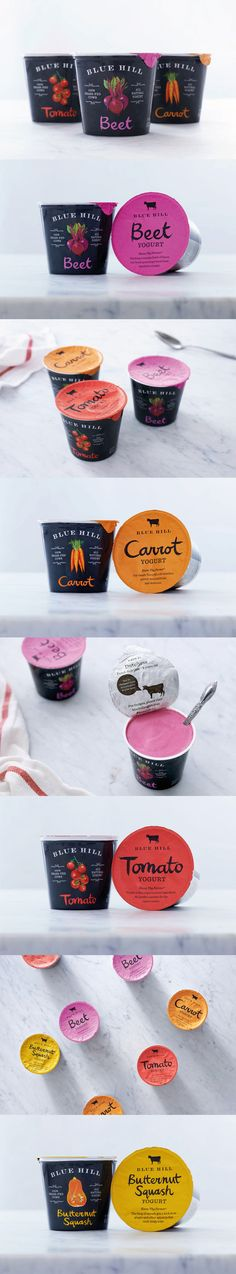 Blue Hill Yogurt. One of the most exquisite yogurt. #Packaging #Design #Yogurt