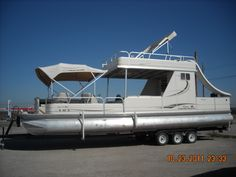 Double decker pontoon for sale google search party for Texas fishing forum boats for sale