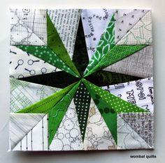 Links to lots of free paper piecing patterns on wombatquilts