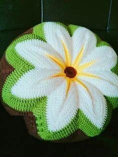Unique Latest Crochet Ideas With Patterns - Diy Home Decor Crochet Coaster Pattern, Crochet Square Patterns, Crochet Motif, Crochet Designs, Crochet Doilies, Crochet Flowers, Knitting Patterns, Diy Crochet Pillow, Diy Crafts Crochet