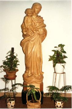 Patroness of the former Dallas Province, Our Lady of Prompt Succor in St. Mary of the Pines, Chatawa, Miss.