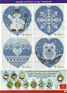 Would make adorable ornaments