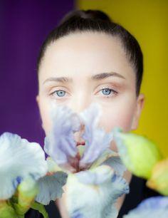 Photographer Paul Rousteau - beauty editorial  #beauty #flower