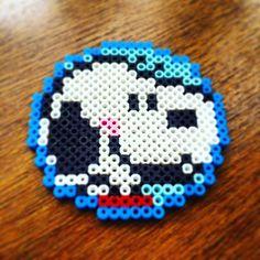 Snoopy perler beads by sdragon0412