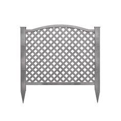 Barrette 46 In X 32 In White Vinyl Fence Panel Lowe S 19